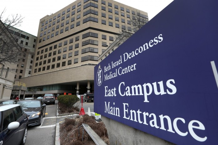 The Beth Israel Deaconess Medical Centre in Boston where Zheng Zaosong was working as a researcher. Photo: Getty Images