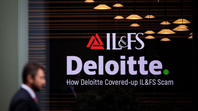 How Deloitte Covered-up IL&FS Scam
