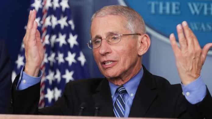 There Is No Guarantee COVID-19 Vaccine Will Work - Dr Fauci