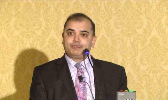 Sapan Desai, the chief executive of Surgisphere. Photograph Gore Medical