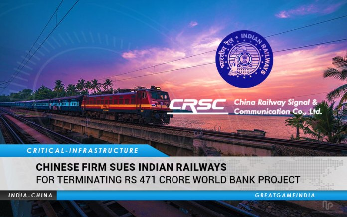 Chinese Firm Sues Indian Railways