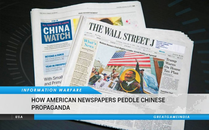 How American Newspapers Peddle Chinese Propaganda