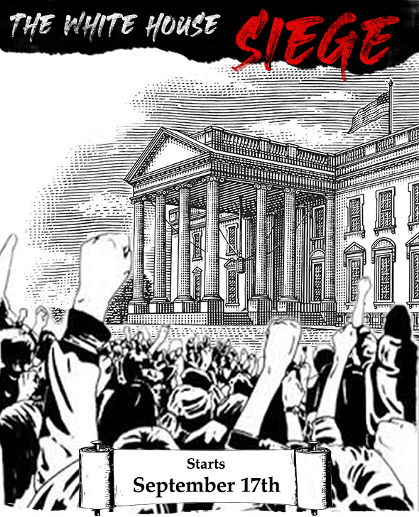 White House siege by Adbusters
