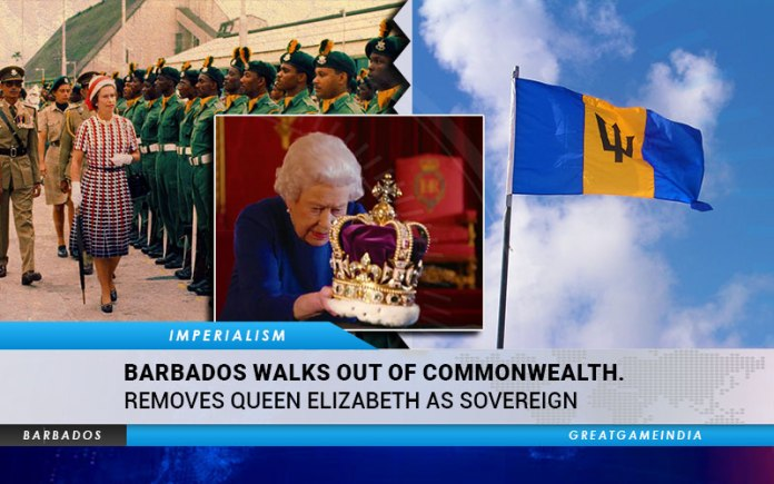 Barbados Walks Out Of Commonwealth & Removes Queen Elizabeth II As Sovereign