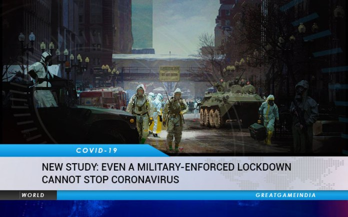 NEW STUDY Even A Military Enforced Lockdown Cannot Stop Coronavirus