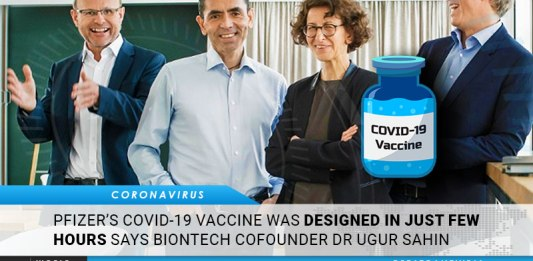 Pfizer's COVID-19 Vaccine Was Designed In Just Few Hours Says BioNTech Co-founder Dr Ugur Sahin