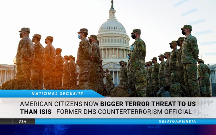American Citizens Now Bigger Terror Threat To US Than ISIS - Former DHS Counterterrorism Official