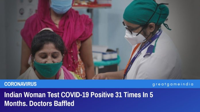 Indian Woman Test COVID-19 Positive 31 Times In 5 Months. Doctors Baffled
