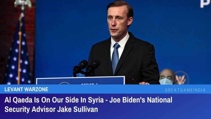 Al Qaeda Is On Our Side In Syria - Joe Biden's National Security Advisor Jake Sullivan