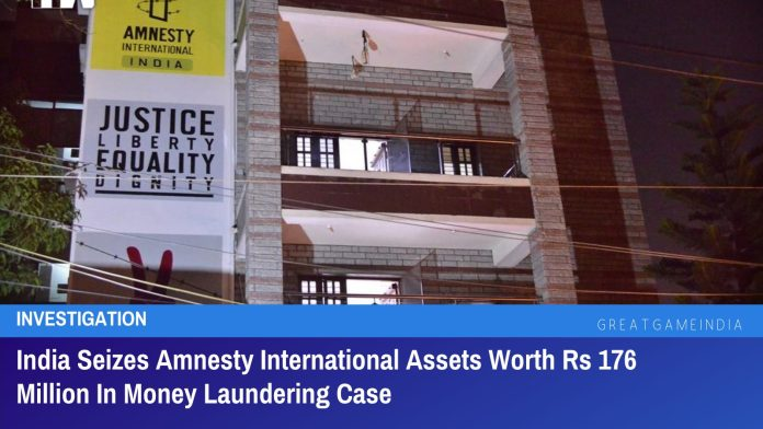 India Seizes Amnesty International Assets Worth Rs 176 Million In Money Laundering Case