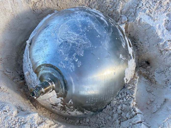 Mysterious Russian Titanium Ball Bahamas