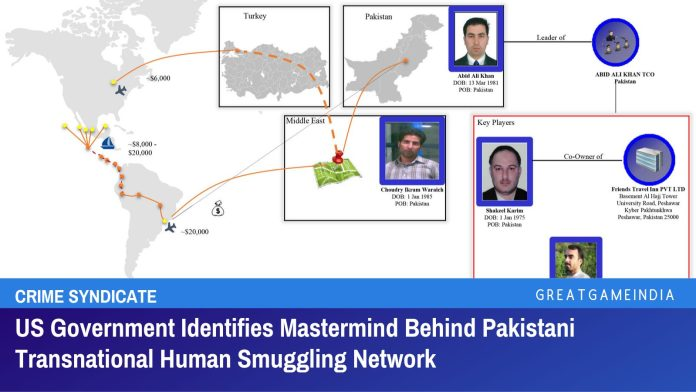 US Government Identifies Mastermind Behind Pakistani Transnational Human Smuggling Network