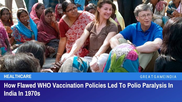 How Flawed WHO Vaccination Policies Led To Polio Paralysis In India In 1970s