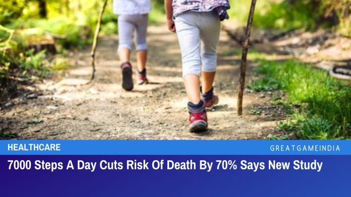 7000 Steps A Day Cuts Risk Of Death By 70% Says New Study