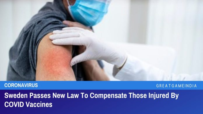 Sweden Passes New Law To Compensate Those Injured By COVID Vaccines