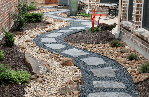 stone & hardscaping great gardens