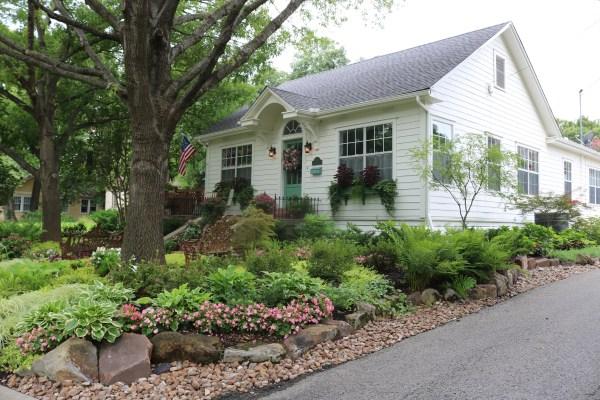 cottage front yard renovation