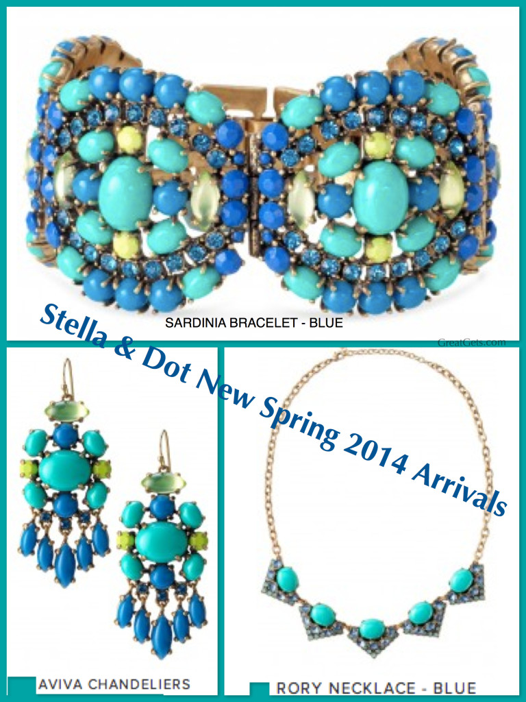 Robin Stella Same Necklace Stella Dot New Spring 2014 Arrivals In Beautiful Blue