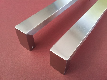stainless handles satin rectangle 5