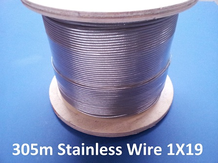 stainless wire 1×19 2