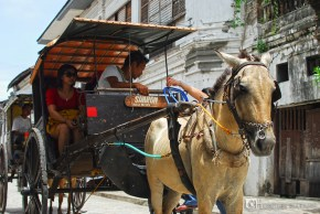The Philippines have been known for the calesa ride.