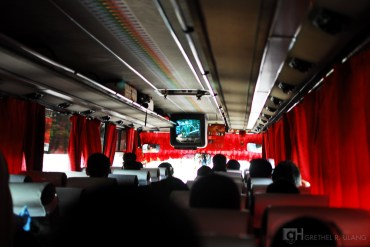 Another bus ride from the northern province to the heart of Manila.