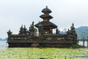 Located at the upland part of Bali is the Ulun Danu Beratan Temple.