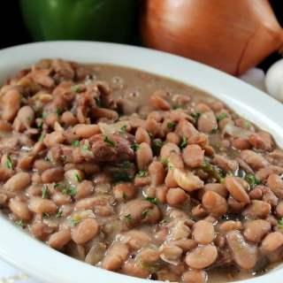 Crock Pot Beans and Ham