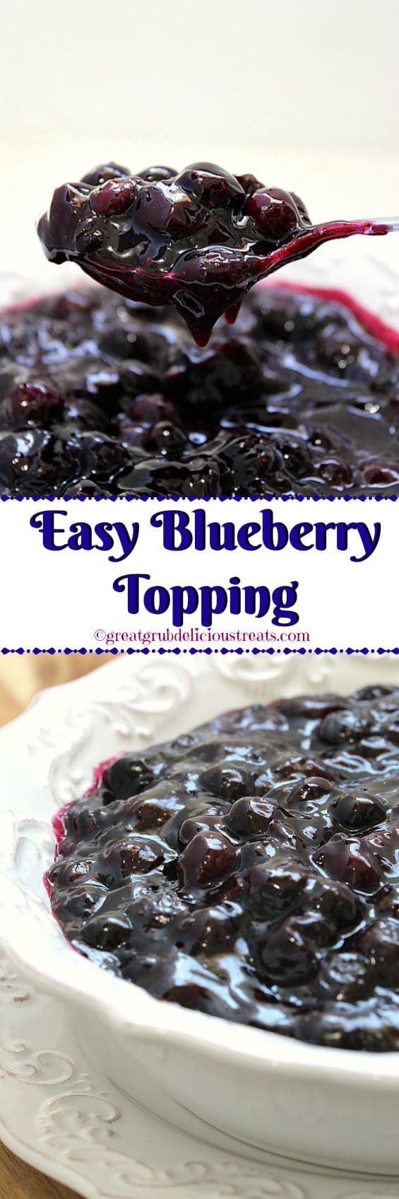Easy Blueberry Topping