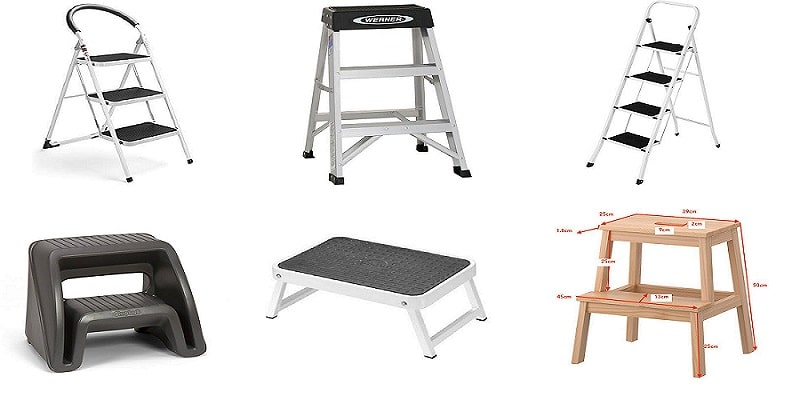 Differences-Stool-Step-Ladders