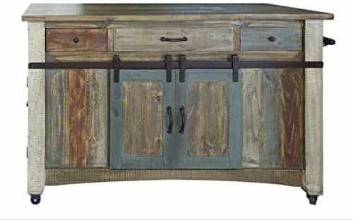 Weavers Bayshore Solid Wood Kitchen Island