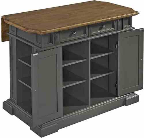 Americana Gray Kitchen Island