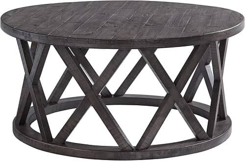 Sharzane Round Sofa Table