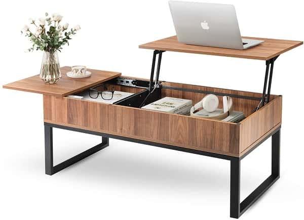 WLIVE Wood Coffee Table