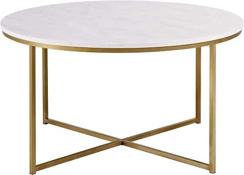 Walker Edison Modern Coffee Table
