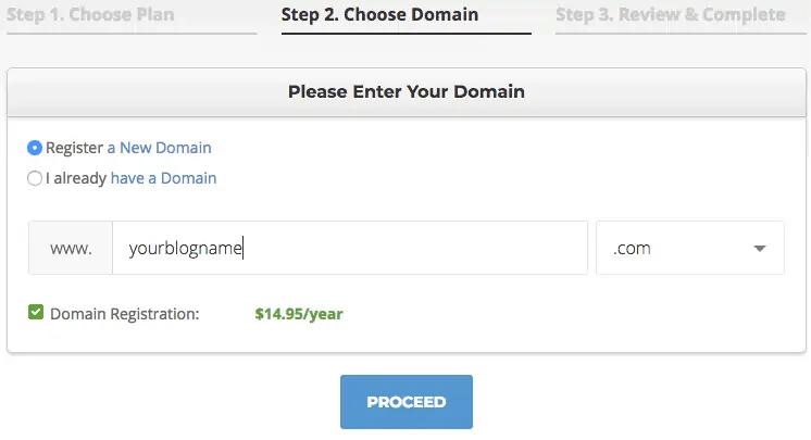 Choose domain name-Great ideas mom