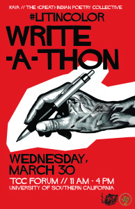 #LitInColor WriteAThon Poster2