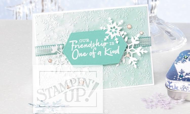 Snowflake Splendor Christmas Card