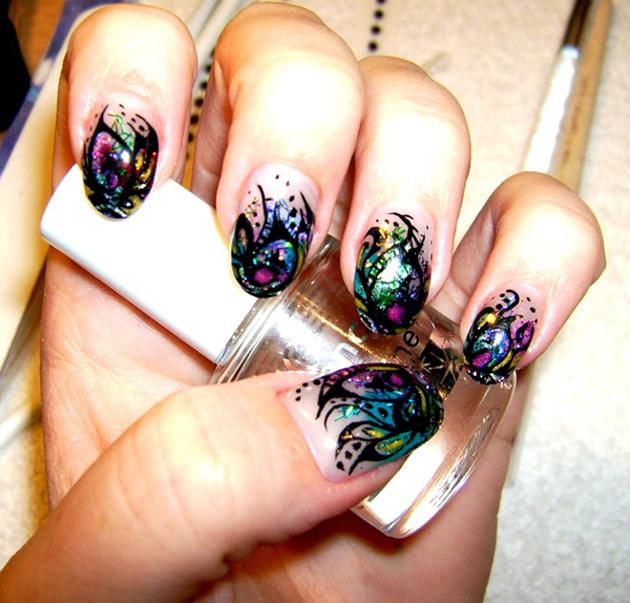 21 Beautiful Nail Art Ideas