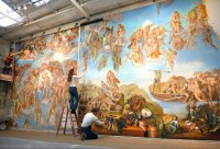 35 Best and Beautiful inspirited Wall Mural Paintings ...