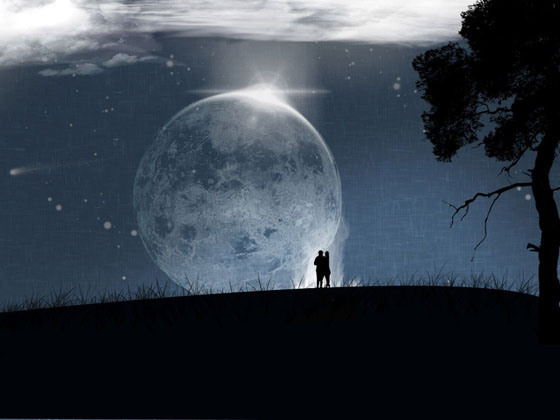 Cute Couples Wallpapers Desktop Beautiful Romantic Moonlight Hd Wallpapers Great Inspire