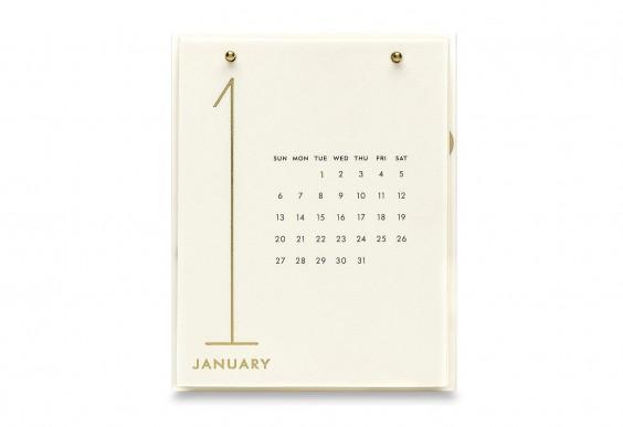 Kate Spade New York 2019 12-Month Desktop Calendar