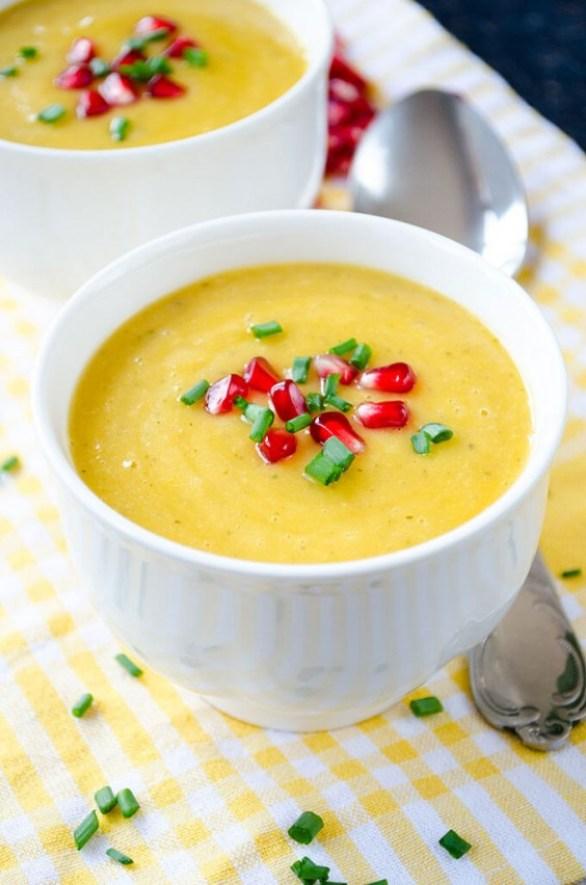 Detox Recipes: Pumpkin Lentil Soup