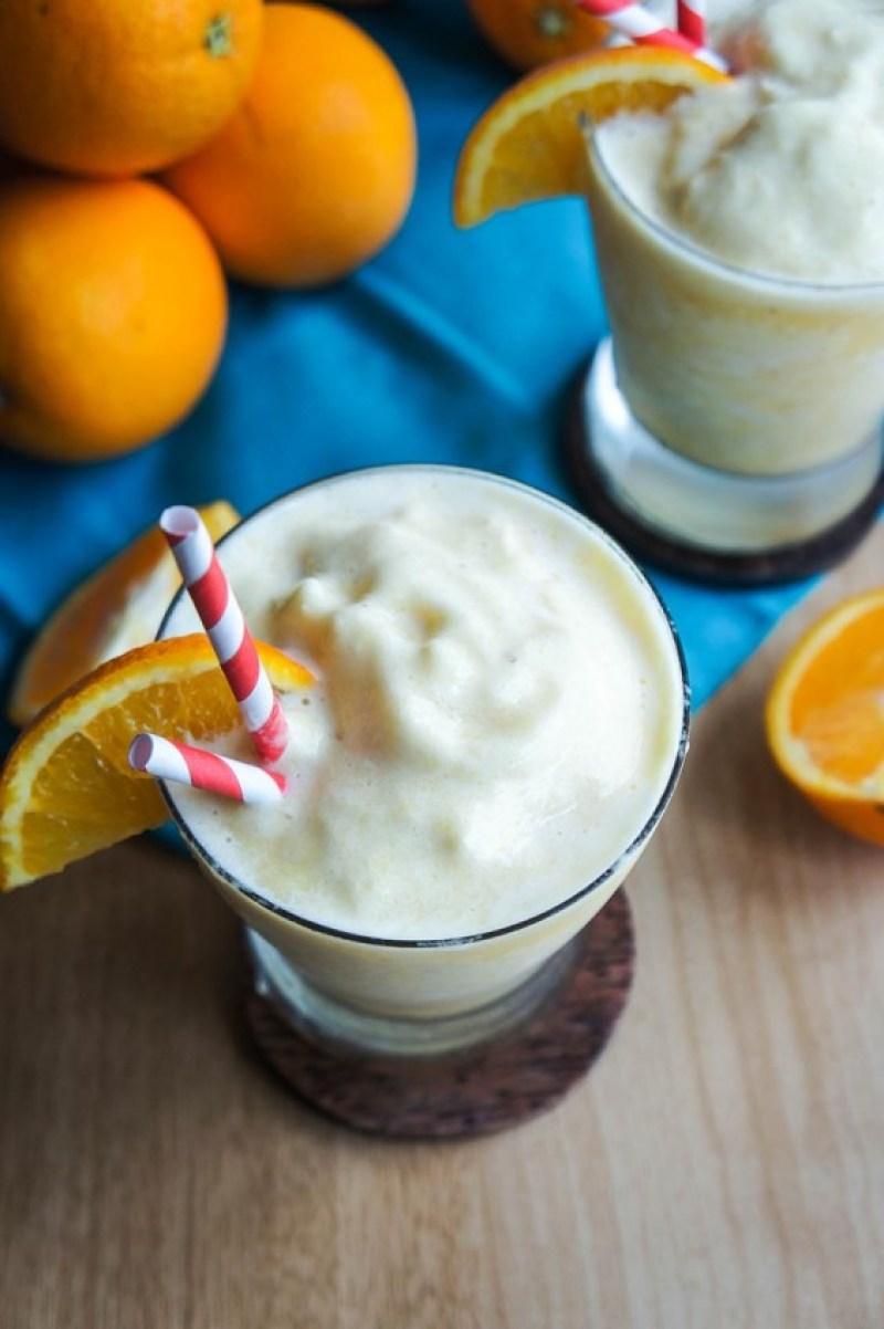 whole fruit orange smoothie