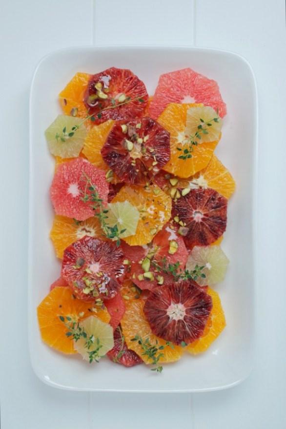 Detox Recipes: Honey Citrus Salad