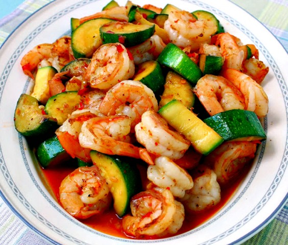 healthy dinner recipes for beginners sweet and spicy shrimp