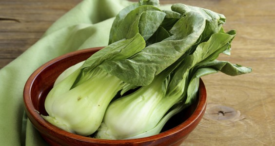 Non-Dairy Sources of Calcium: Bok Choy