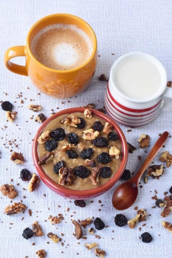 Coffee Cake Porridge Recipe