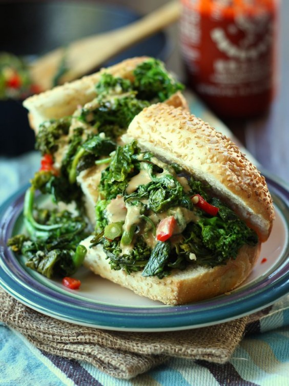 Healthy Sandwiches and Salads That Will Warm You Up