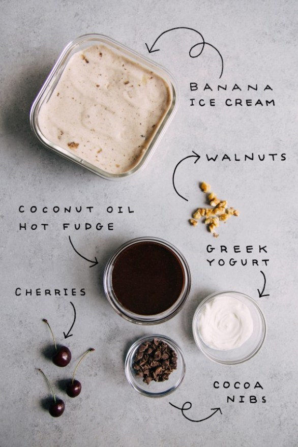 sundae: ingredients
